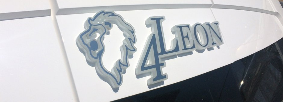 Yacht lettering manufactured in the UK